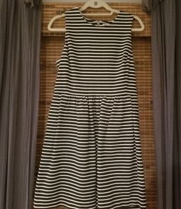 J Crew Black & White Dress